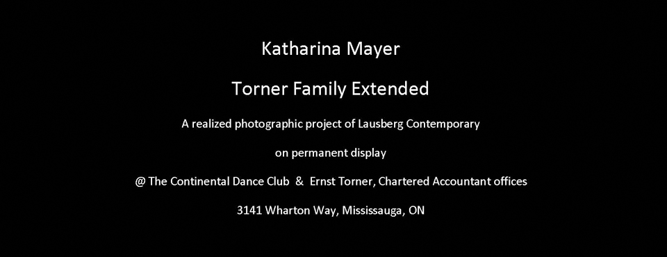 Torner Family Extended: Katharina Mayer. Click here for Souvenir Brochure.