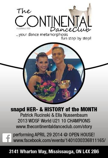 snap'd HER- & HISTORY of the MONTH Patrick Rucinski and Ella Nussenbaum March2014 advert