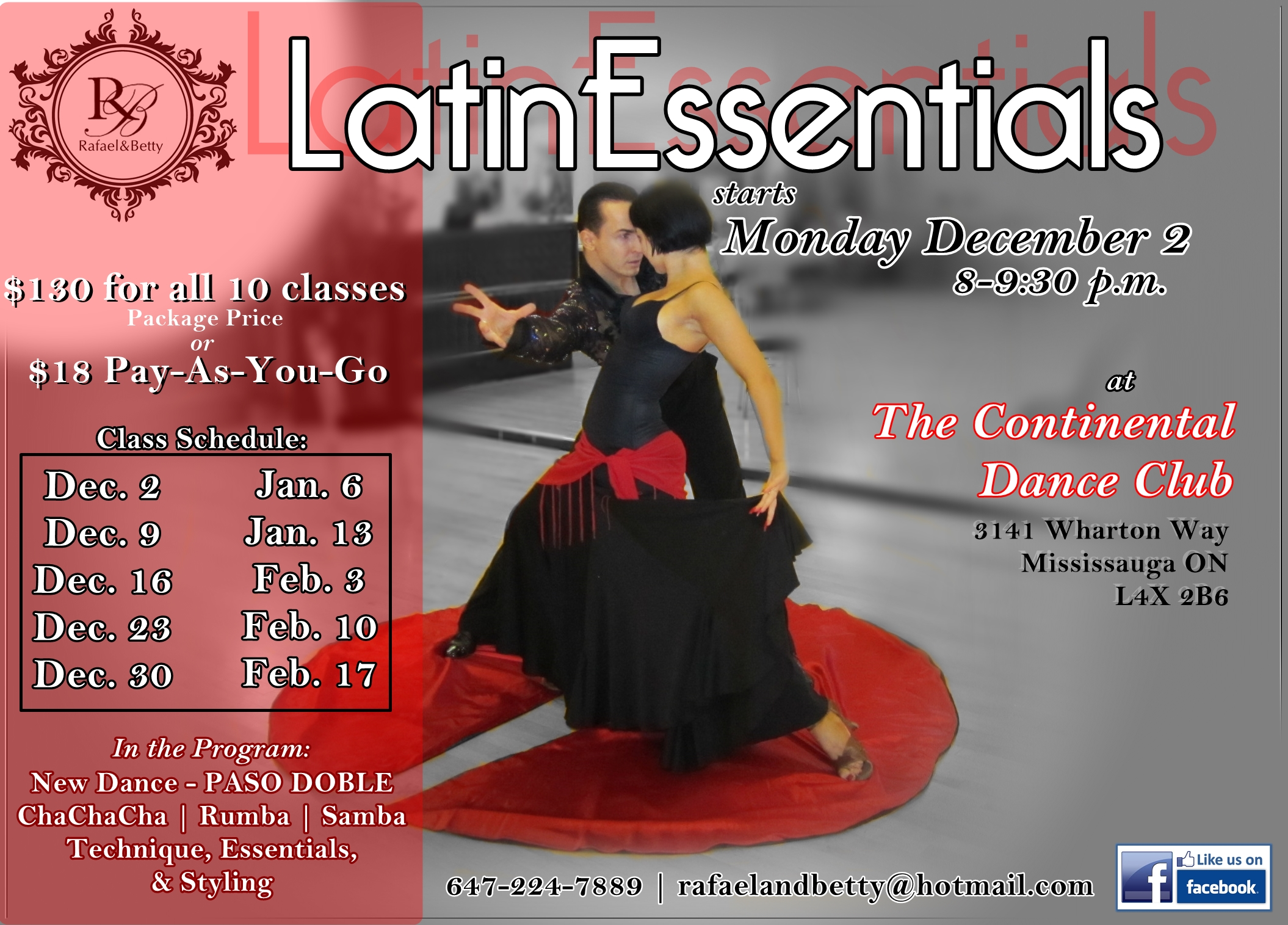 Latin Essentials session 2  DEC2013 JAN2014 FEB2014 flyer