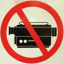 NO private FILMING PERMITTED