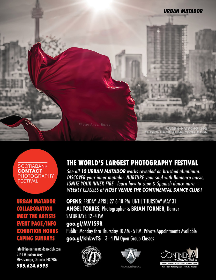 PHOTOGRAPHY angel torres URBAN MATADOR brian torner CONTACT photography festival 2018 OPENING  6-10PM