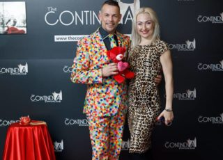 STAR PHOTOS red carpet BrianTorner & KristinaKulikova 28.04.2018