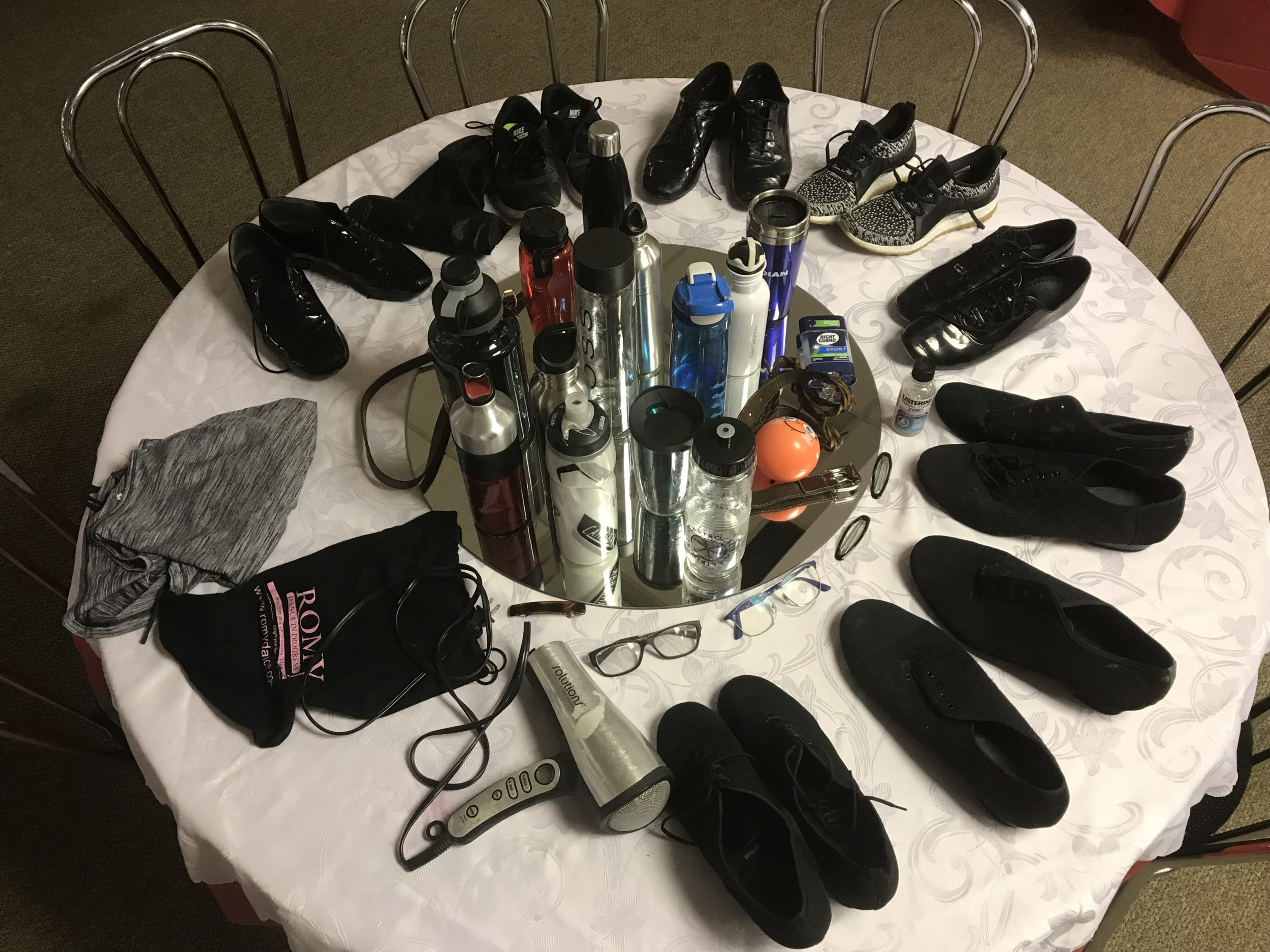 The Continental Dance Club LOST & FOUND and SPRING CLEANING EARLY…