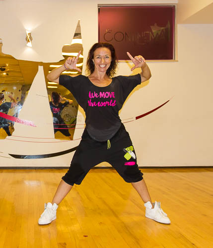 THANK YOU Silvie Odlekova ZUMBA since 2017 @ The Continental Dance Club!