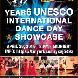 FACEBOOK EVENT PAGE RSVPS APR29  YEAR6 Unesco International Dance Day Showcase 8pm-MIDNITE