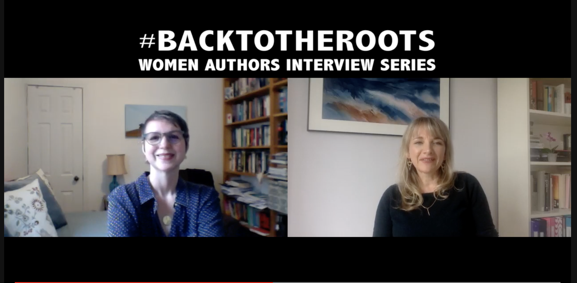 #BackToTheRoots Women Authors Read Live on April 26th