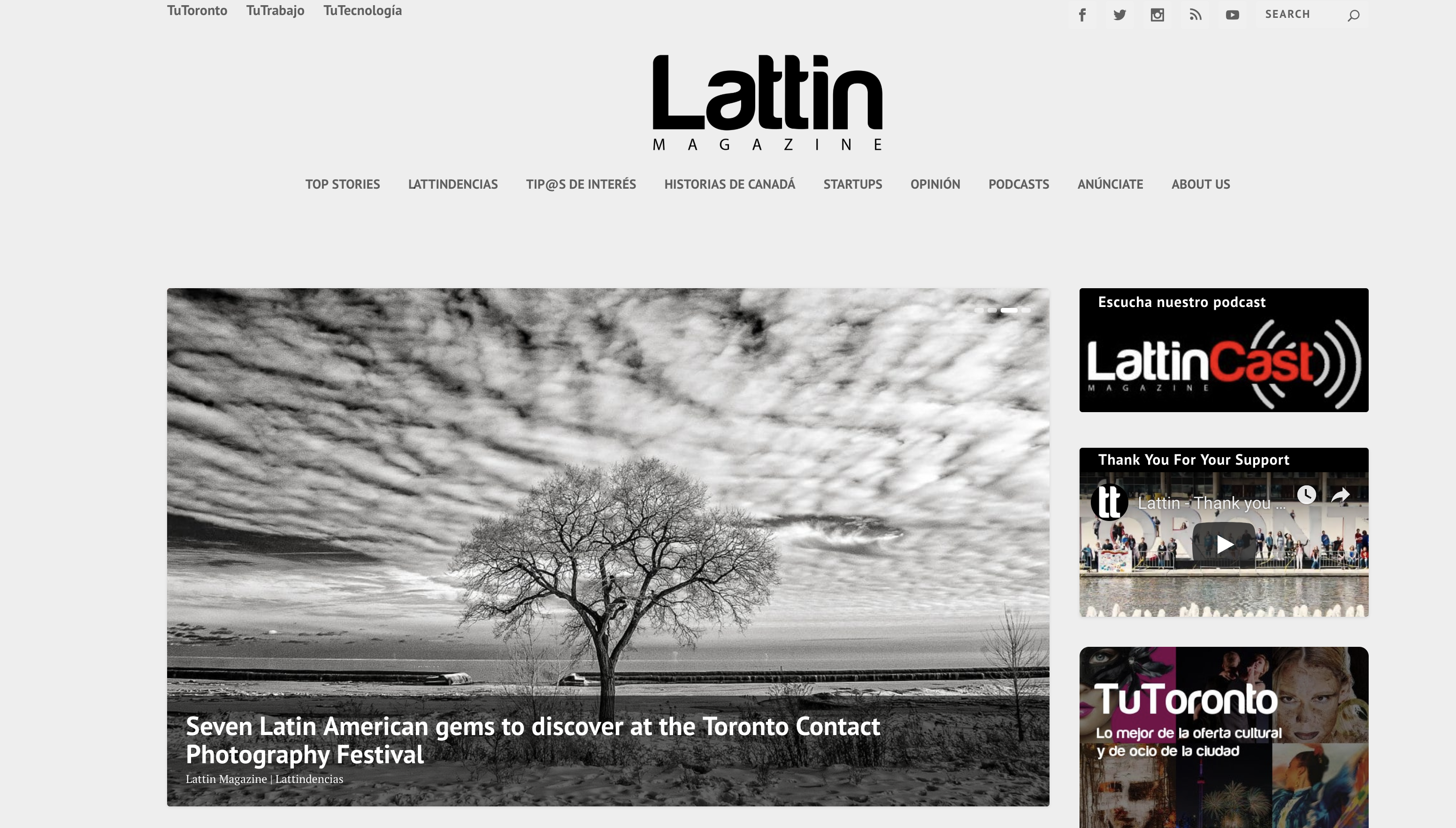 THANK YOU   LATTIN . magazine #CubaLIBRE2019 & #BackToTheRoots Angel Torres CONTACT PHOTOGRAPHY FESTIVAL  PRESS