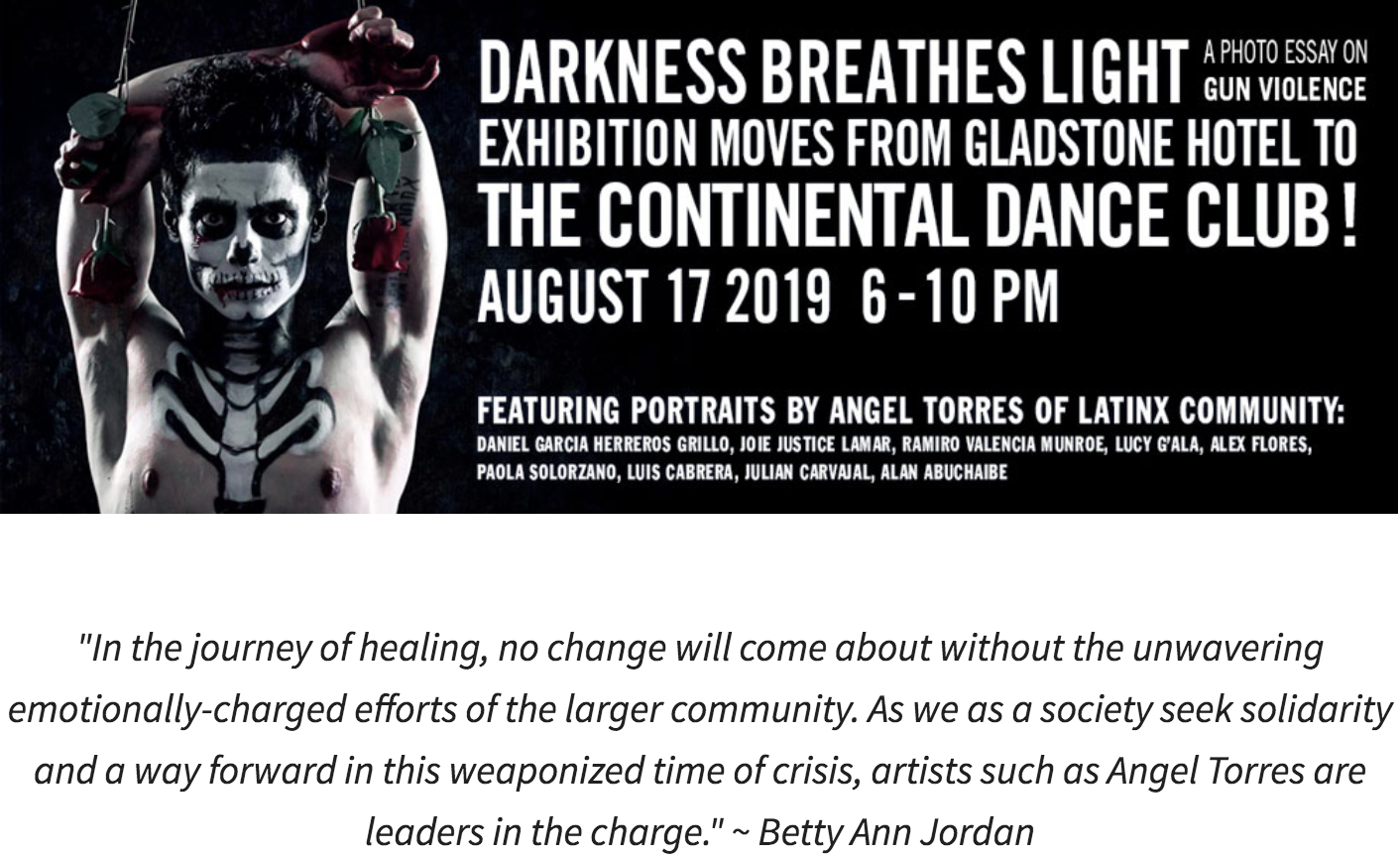 Darkness Breathes Light COMES TO Mississauga THIS SATURDAY!