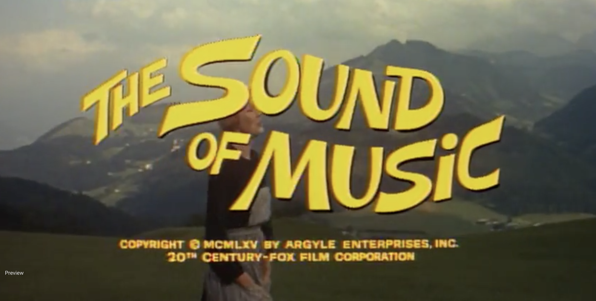 THE SOUND OF MUSIC … requires INDIVIDUAL CLEARANCE & PURCHASE OF RIGHTS TO USE/PLAY annually