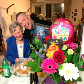 LETTER OF THE DAY … the passing of dear family friend, my TANTE INGE GEI  > WE WILL CELEBRATE YOUR LIFE IN ONE YEAR – together!